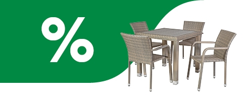 Use chance - Garden Furniture Sale -20%