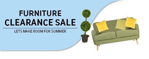 Furniture clearance sale up to -50% 14-24.03.
