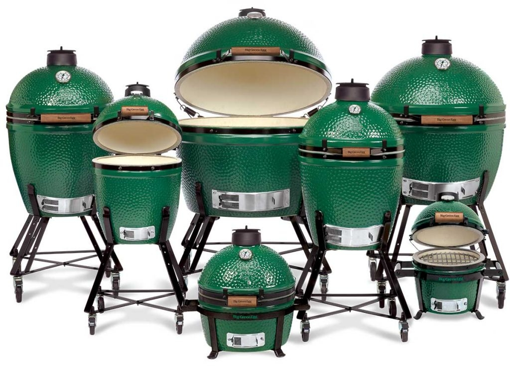 Charcoal grills Big Green Egg NEW!