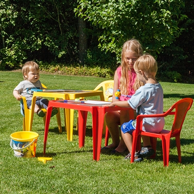 Children's chairs and tables