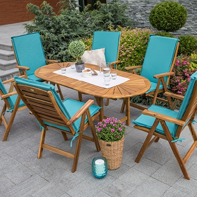 GARDEN TABLES AND CHAIRS