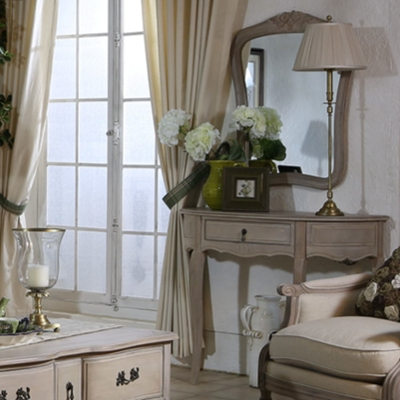 Dressing tables, benches, mirrors