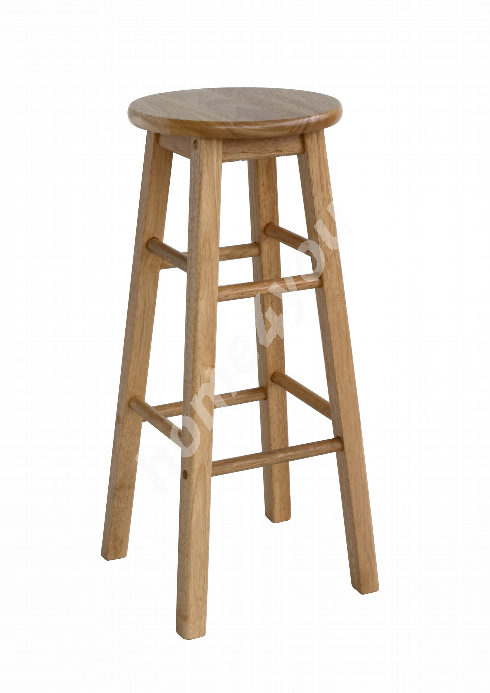 Bar chair PROMO D30xH74cm, wood: rubber wood, finish: lacquered