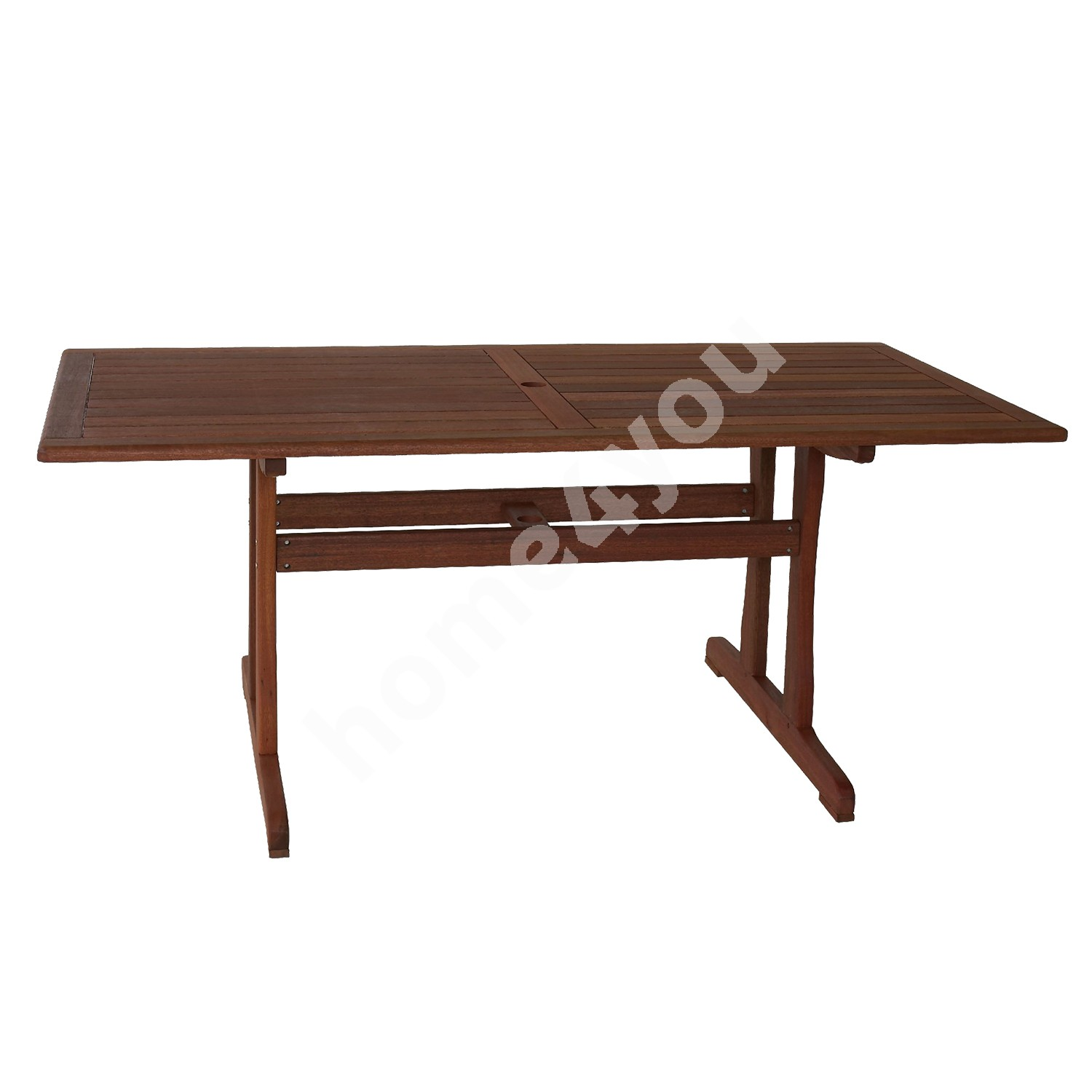 Table VENICE, 180x90xH74cm, wood:  meranti, finish: oiled