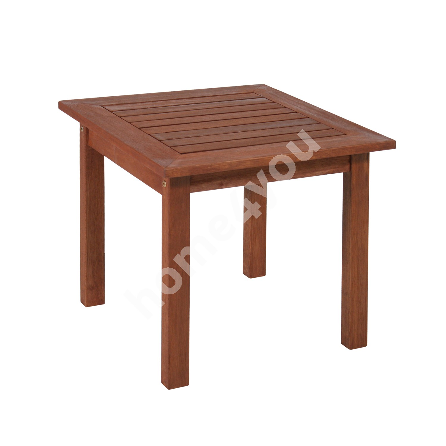Side table BORDEAUX, 50x50xH50cm, wood: meranti, finishing: oiled