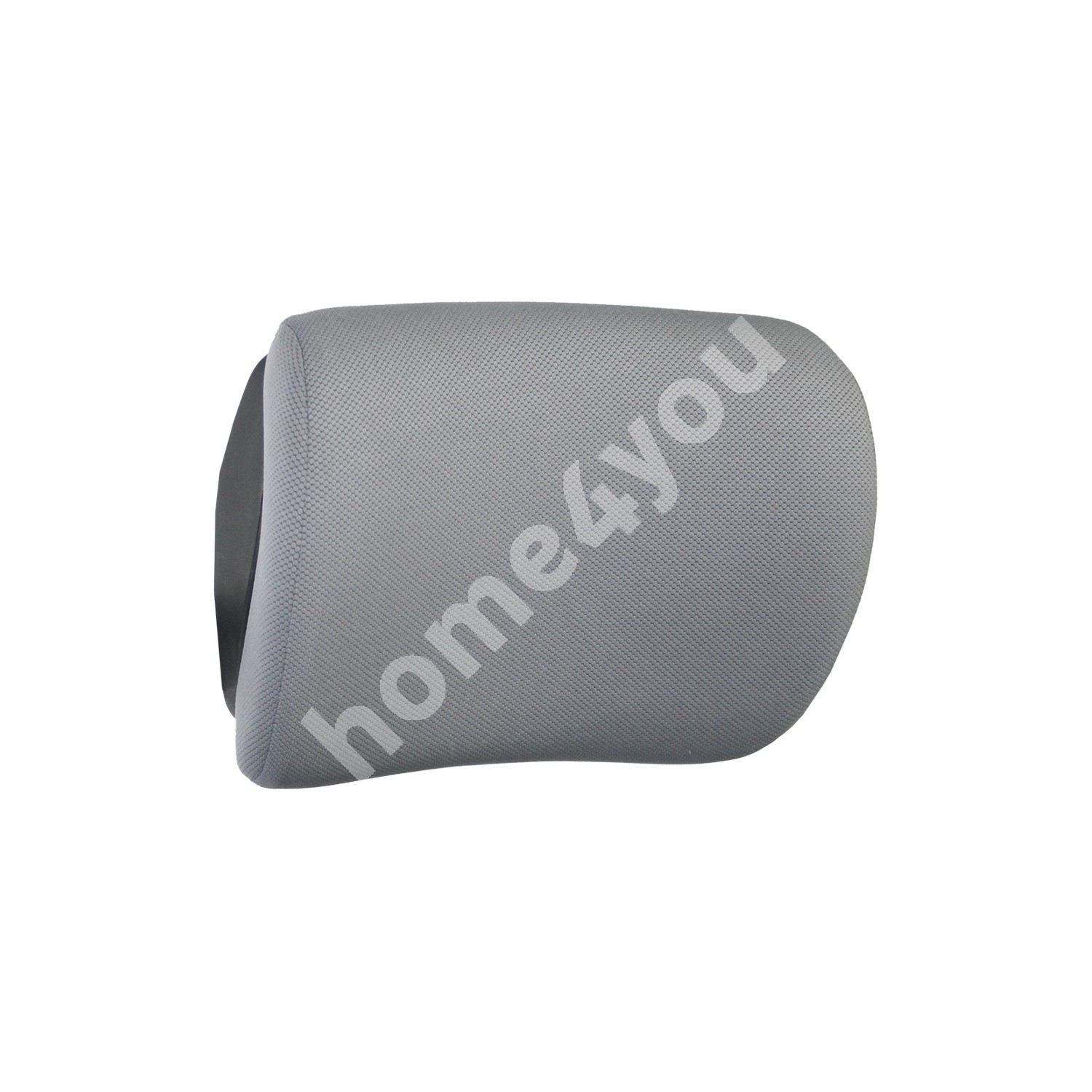 Headrest FULKRUM, 29x22x12cm, cover material: fabric, color: grey