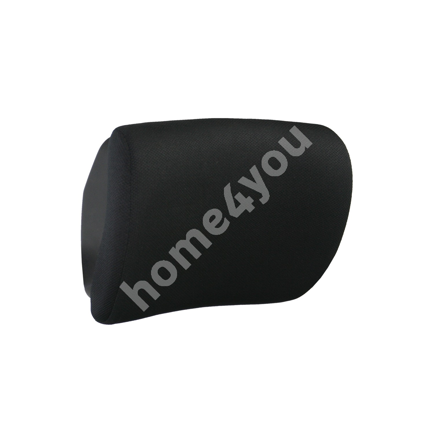 Headrest FULKRUM 29x22x12cm, cover material: fabric, color: black