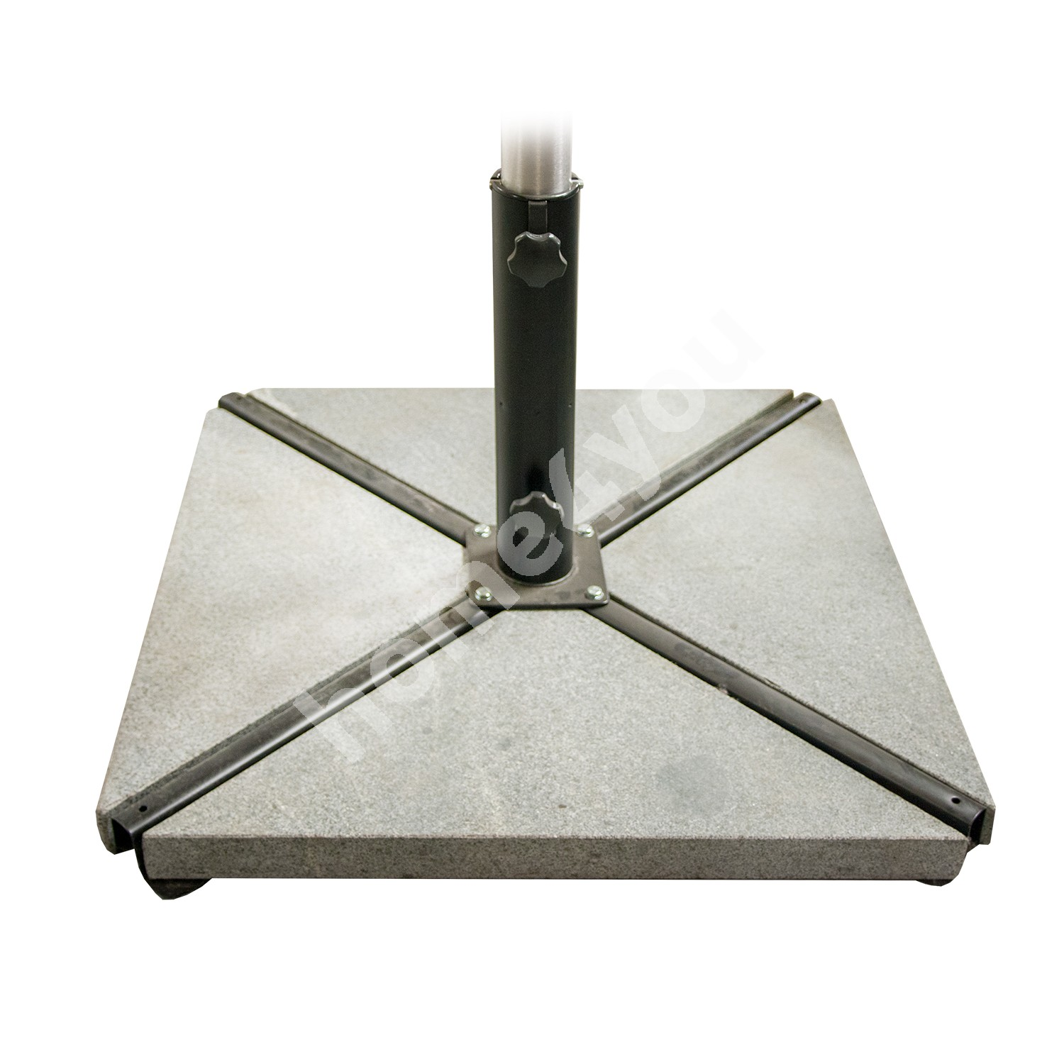Stones for the parasol base 4pcs, total weight 58kg, material: granite