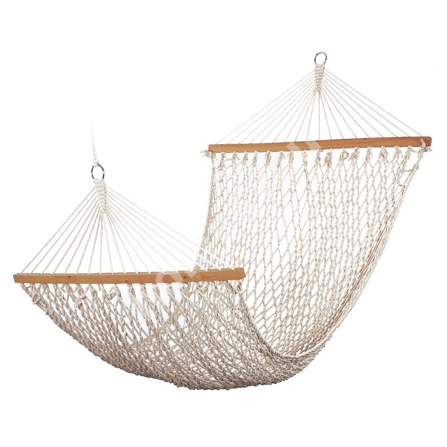 Hammock LAISY, 200x110cm, material: cotton rope, color: natural white