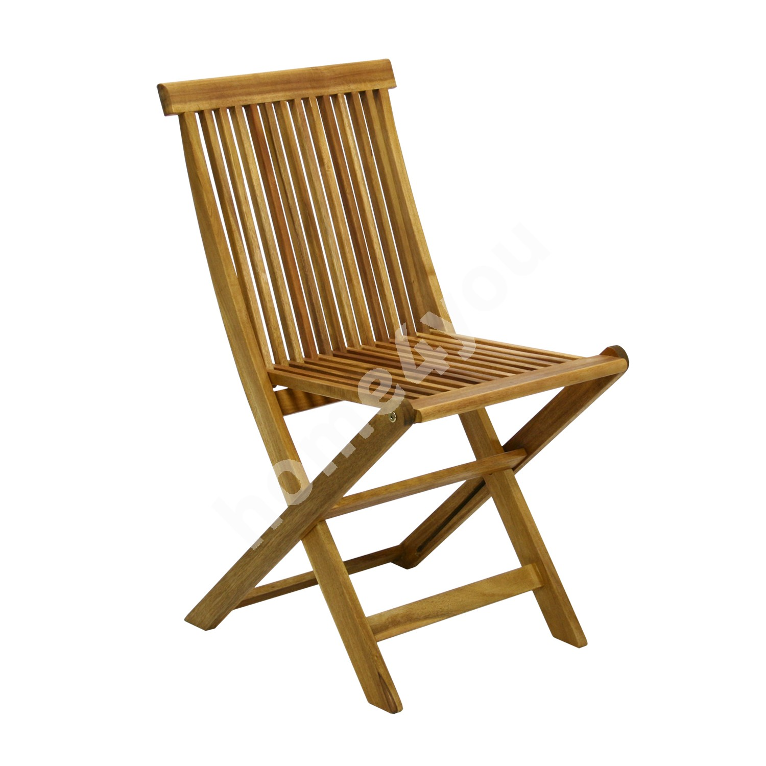 Chair FINLAY 45x57xH86cm, foldable, wood: acacia, finish: oiled
