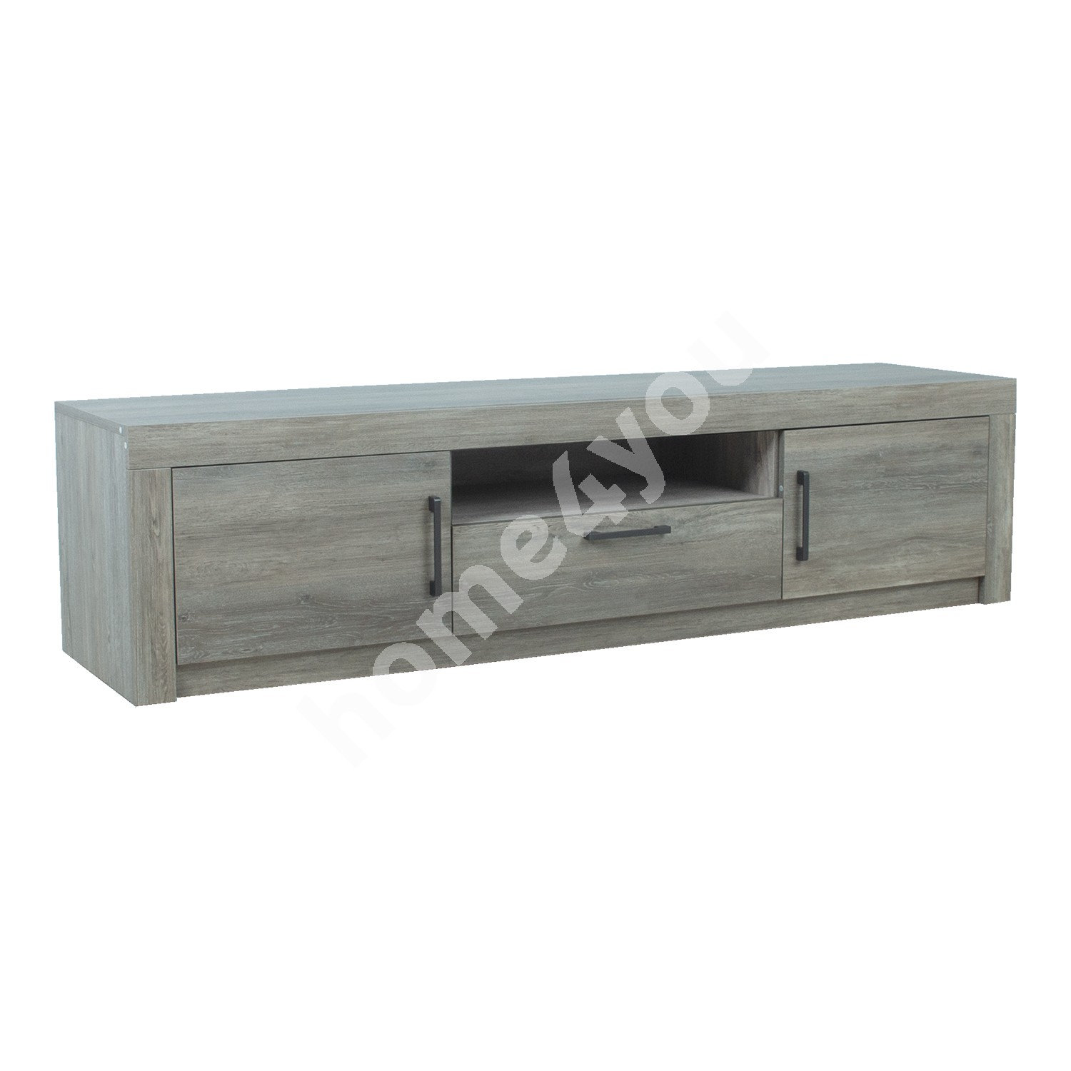 TV-Laud FLOW 180x45xH45cm, MDF hall tamm
