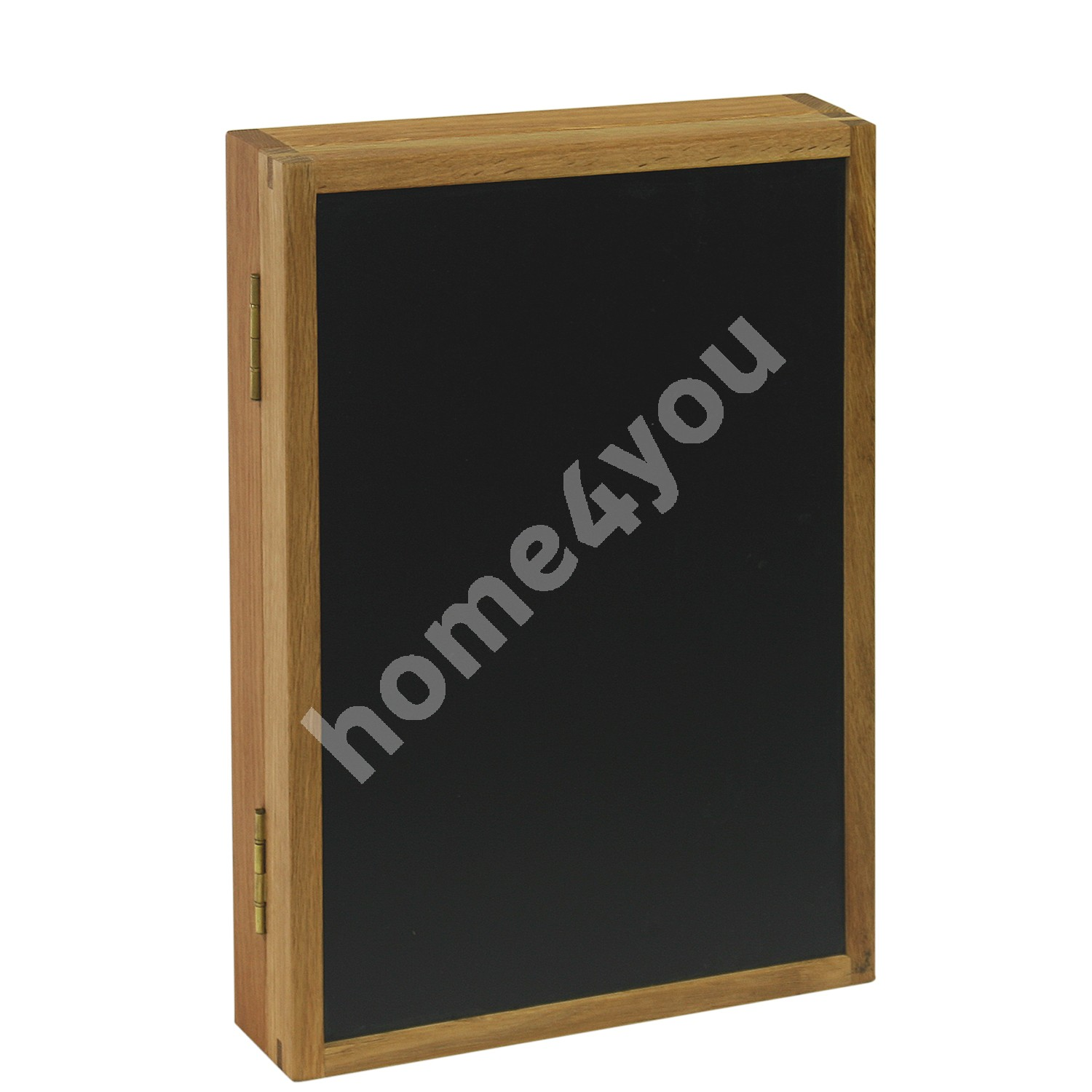 Key cabinet with blackboard MONDEO 42x30cm, wood: oak, finishing: oiled