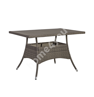 Laud PALOMA 120x74xH72,5cm, pruunikashall