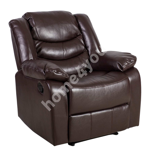 Tugitool DIXON manuaalne recliner 99x95xH102cm, pruun