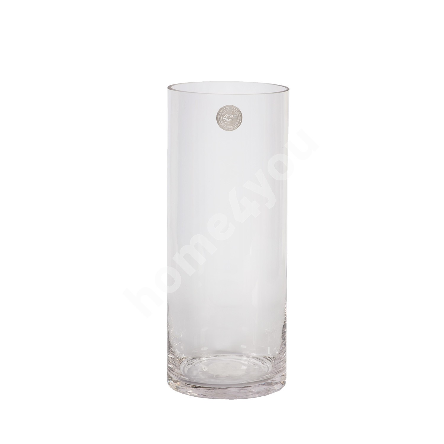 Vase IN HOME D12xH30cm, clear glass