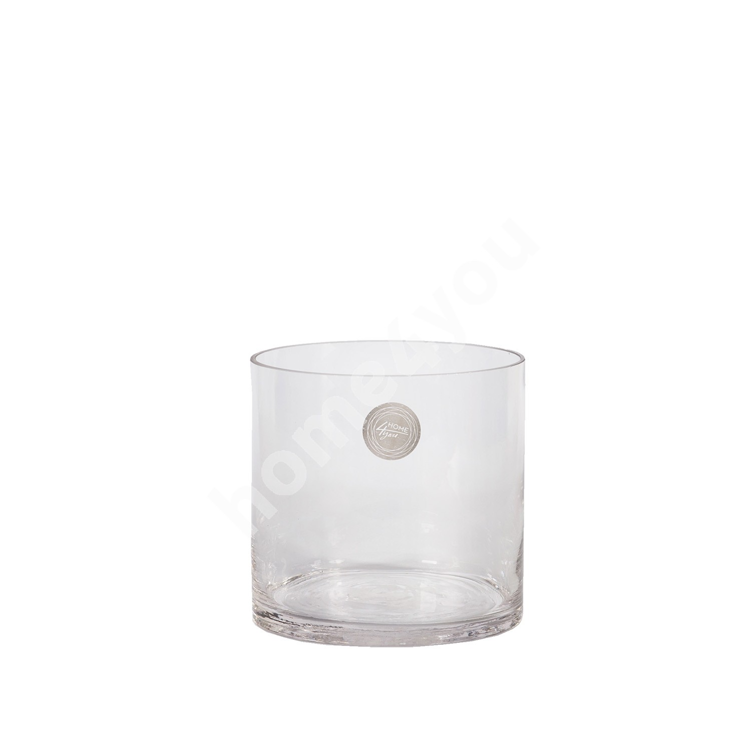 Vase IN HOME D12,5xH12,5cm, clear glass