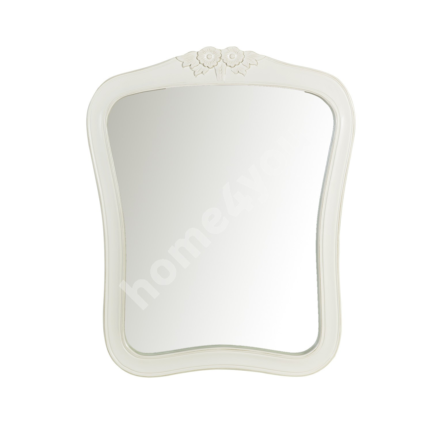 Mirror ELIZABETH 70x3xH86cm, color: antique white