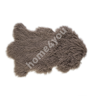 Naturaalne lambanahk TIBET, 60x95cm/ ±10cm, pruun