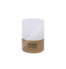 Küünal PURE COLOR, D6.8xH9.5cm, valge ( lõhnatu)