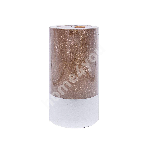 Свеча LUXO D6.8xH12см, медь металлик ( без аромата)