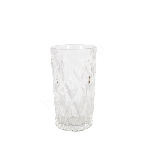 Joogiklaas kõrge CORAL 350ml, D7,2xH12,5cm, läbipaistev