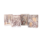 Kinkekott WOODY-1, 18x23x10cm, puitsein/ jõulud, mix