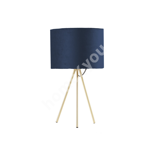 Настольная лампа TRINITY H42см, синяя / золотая