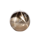 Свеча TITANIUM GOLD, D9см, шаровая свеча, в подарочной коробке