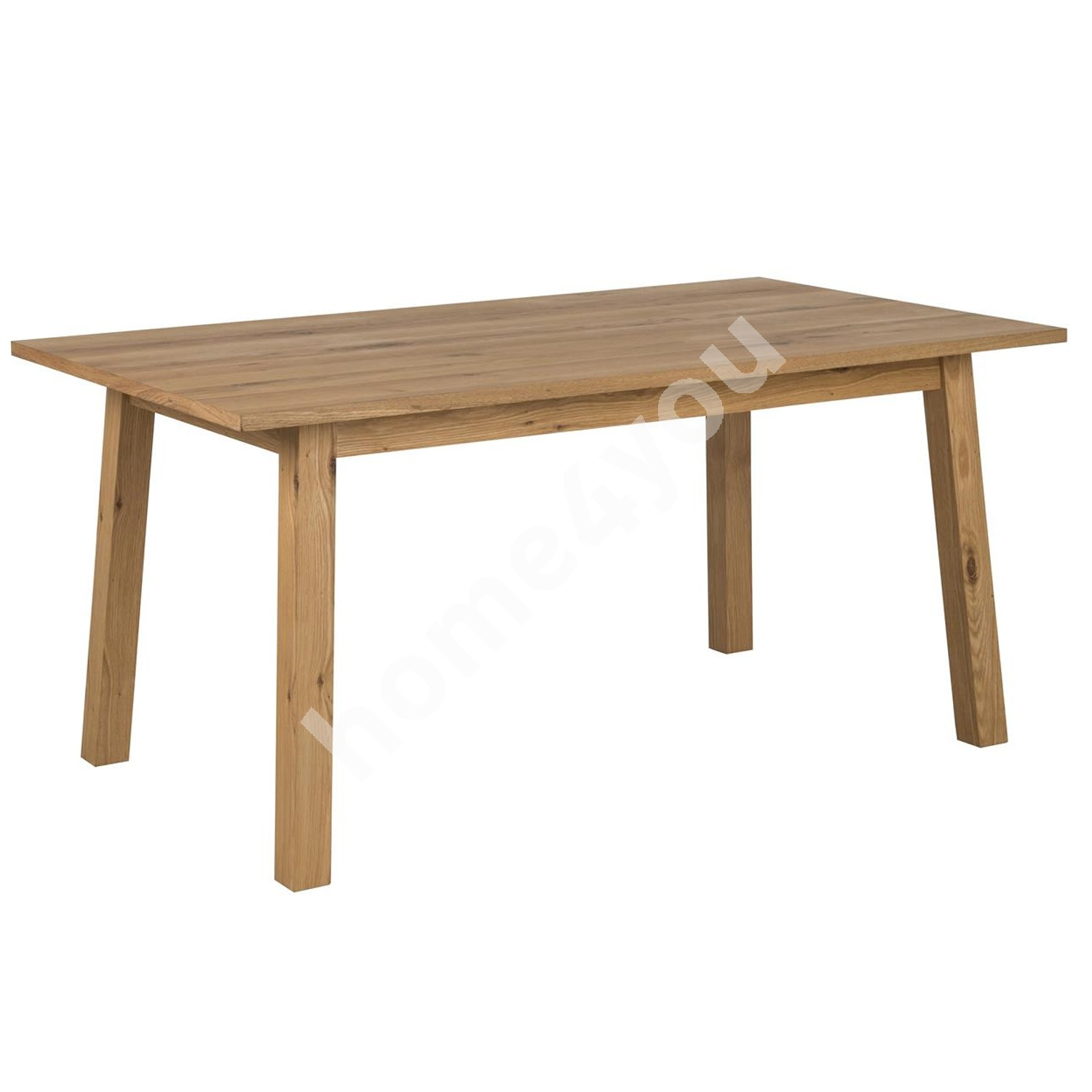 Dining table CHARA 160x90xH75cm, oak