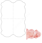 Lambanahast vaip MERINO 90x180cm, roosa