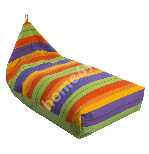 Kott tool SALVADOR 130x80x20/70cm, sinine/oranž/roheline