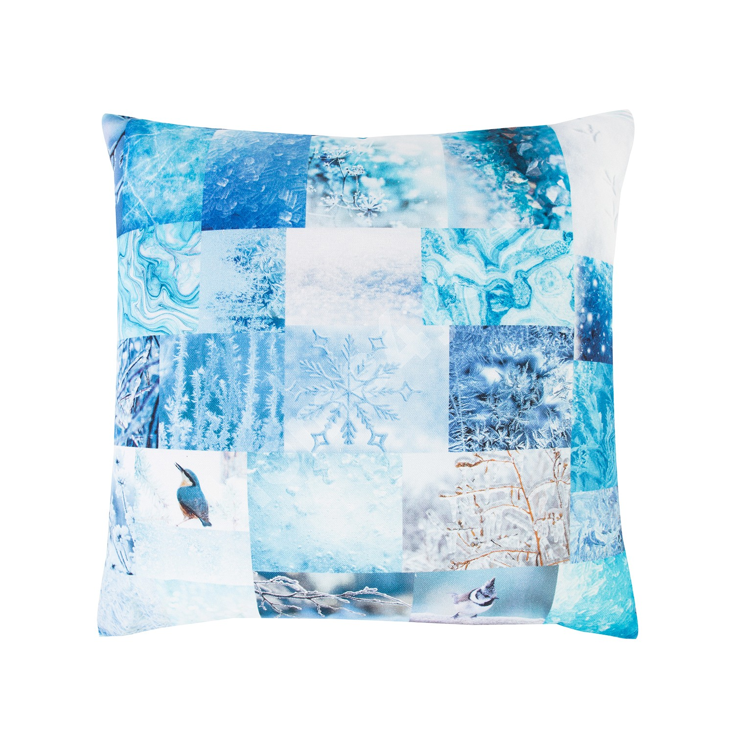 Pillow XMAS STORY 45x45cm, winter, 100%cotton, fabric-755