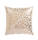 Padi LEOPARD 45x45cm, leopardi muster kuldne