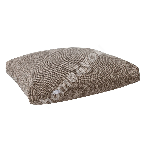 Floor cushion SEAT ALWAYS 60x80xH16cm, brownish grey