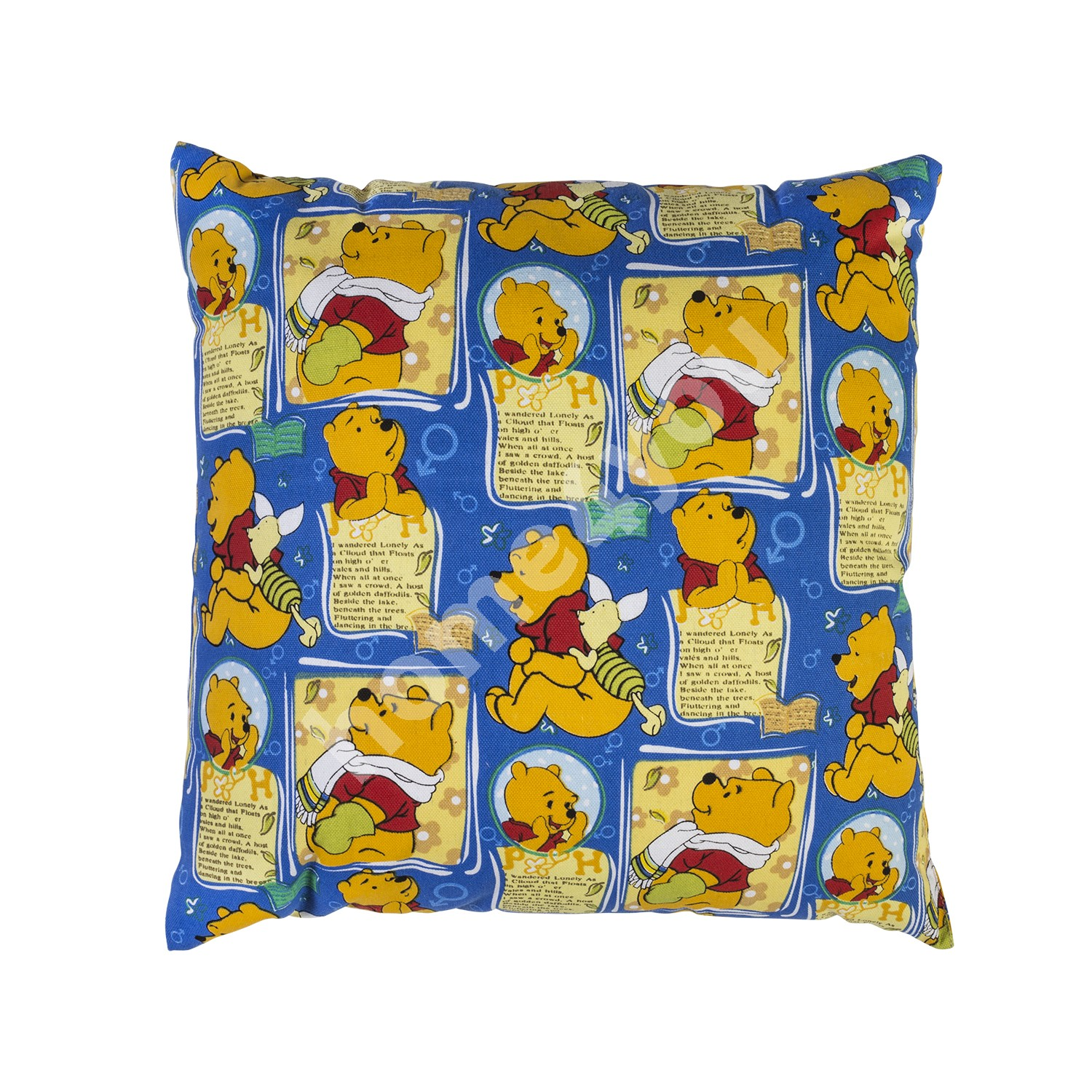 Pillow SUMMER 45x45cm, 50% polyester / 50% cotton, Winnie The Pooh
