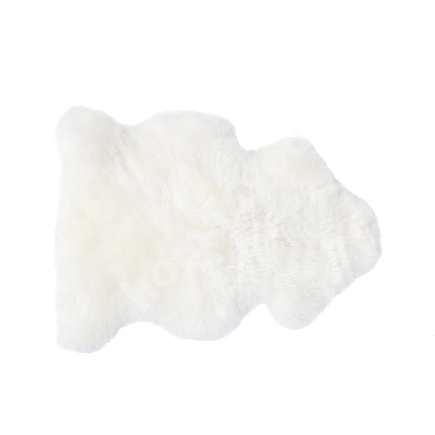 Sheepskin BRAZIL ca 70-80cm, natural, white,