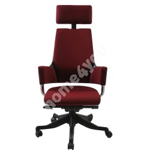 Töötool DELPHI 60x47xH116-128,5cm, iste ja seljatugi: kangas, värvus: tumepunane