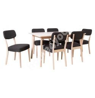 Söögilauakomplekt ADORA 6-tooliga (21926), hele pöök