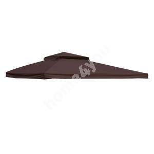 Roof cover for gazebo LEGEND 3x4m dark brown