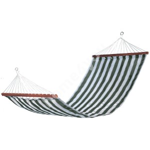 Hammock TIINA green striped