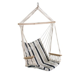 Swing chair HIP blue striped