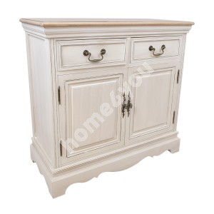Sideboard SAMIRA with 2-doors and 2-drawers, 85x39xH82cm