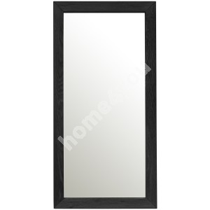Mirror MONDEO 80x40cm, frame: oak, color: black