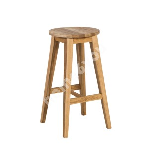 Bar stool MONDEO D36xH70cm, wood: oak, finish: oiled