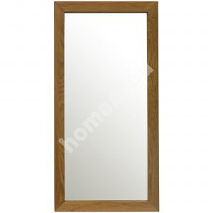 Mirror MONDEO 80x40cm, frame: oak, finishing: oiled