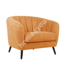 Кресло MELODY 100x88xH76см, оранжевое