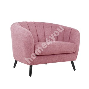 Armchair MELODY 100x88xH76cm, pink