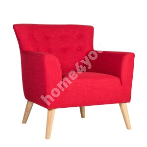 Armchair MOVIE 83x76xH83cm, red