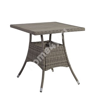 Laud PALOMA 74x74xH72,5cm, pruunikashall