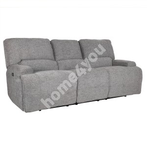 Diivan MARCUS 3-kohaline elektriline recliner 216x99xH96,5cm, hall